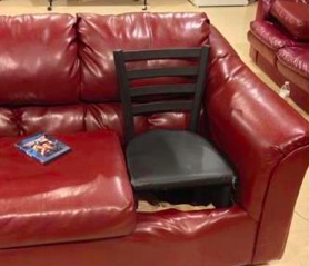 The Alexander Technique Teacher Approved Couch.